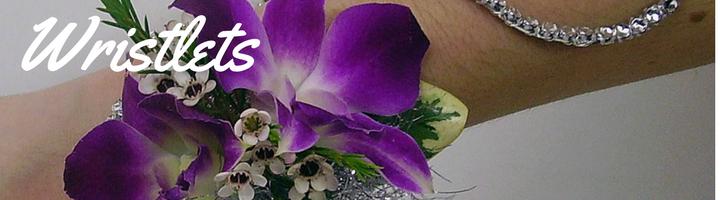 Orchid Wristlets